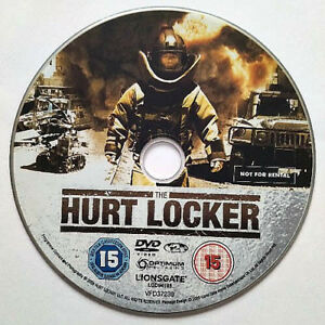 The Hurt Locker (DVD) Disc Only - Jeremy Renner - Anthony Mackie - (2008) - Iraq