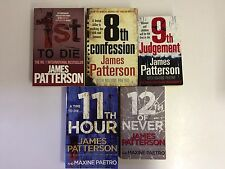 James Patterson Womens Murder x5 - 1st, 8th, 9th, 11th and 12th - FREE P&P