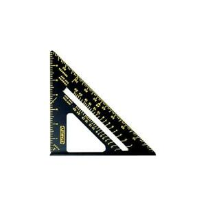 Stanley Quick Square Layout Tool Carpenter Protractor Scale Saw Guide Tool 7 In