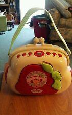 Strawberry Shortcake Pocketbook CD Player AM/FM Radio Boombox