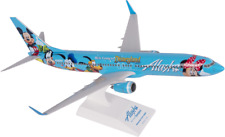 Skymarks Alaska Airlines B737-900 Spirit Of Disneyland Desk Model 1/130 Airplane