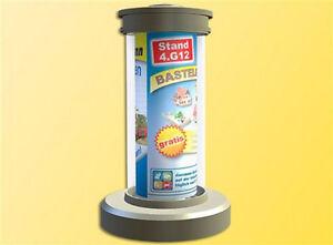 Viessmann 1392 Rotating Advertising Pillar with Lighting, H0