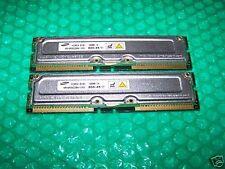 512MB non-ECC SAMSUNG PC800-45 RDRAM RIMM, TESTED RIMM