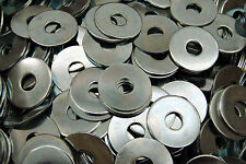 (400) Oversized Fender Washers 3/8 x 1-1/4 OD - Zinc Plated