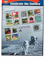 SCOTT # 3188  Celebrate the Century 1960's Issue U.S. Stamps MNH - Sheet of 15