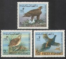 Afghanistan 1970 Eagle/Pheasant/Birds/Raptors/Nature/Wildlife 3v set (n39066)