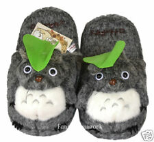 brand new Totoro plush slippers - adult size