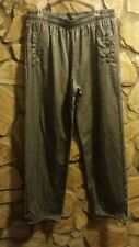 Zone Pro Pants Mens Size Xl Gray Athletic Exercise (Inside Soft Fleece)#Ms5R