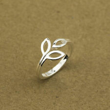 New Women Fashion Jewelry 925 Sterling Silver Adjustable Ring Thumb Finger Toe