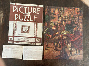 Vintage Viking Mfg Co., Inc. Weekly Picture Puzzle Series C-5 (Static) checkers