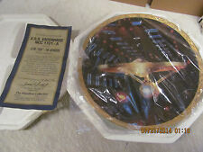 Star Trek The Voyagers Ncc-1701-A Limited Edition Plate #4207C Coa