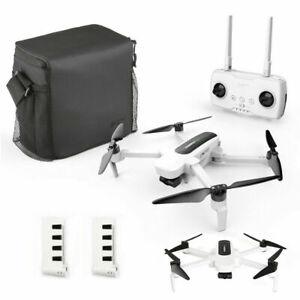 Hubsan H117S Zino RC Drone WiFi FPV 4K Camera 3Gimbal Quadcopter +2 Battery USA