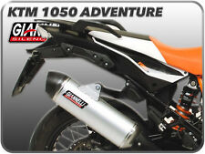 POT D'ECHAPPEMENT GIANNELLI ALLUMINIUM CAP CARBON POUR KTM 1050 ADVENTURE 2015