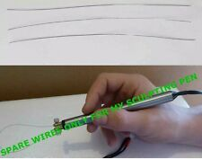SPARE CUTTING WIRES FOR MY HOT WIRE SCULPTING PEN TOOL (5) FOR £5.00 1ST CLASS