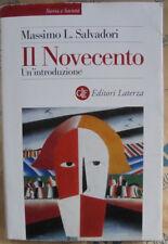 IL NOVECENTO. UN' INTRODUZIONE - MASSIMO L.SALVADORI - LATERZA