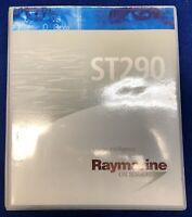 Raymarine ST290 Instrument System Guide Owner's Manual Handbook Binder