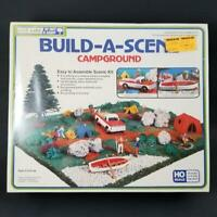 Life-like Build-A-Scene Campground HO Scale for Train Layout NEW Vintage #1374