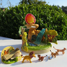 Mini Polly Pocket Disney König der Löwen Lion King Playset 100% complete
