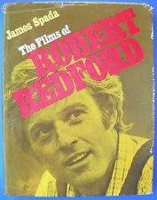 James Spade THE FILMS OF REBERT REDFORD Citadel 1977 Hardcover DJ 1st Ed.