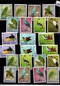 /// MANAMA - MNH - PERF + IMPERF - BIRDS - NATURE - FAUNA