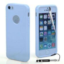 Carcasas transparente de color principal blanco para teléfonos móviles y PDAs