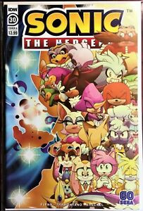 SONIC The HEDGEHOG Comic Book IDW #30 A Cover August 2020 Bagged & Boarded MINT
