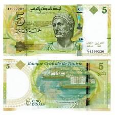 Tunesien / Tunisia 5 Dinar 2013 Pick.95 Unc. / 6526474##