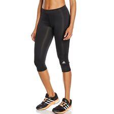 adidas Techfit Capri - Black/msilve Gr. L
