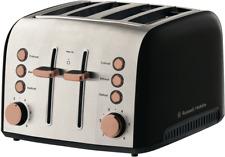 NEW Russell Hobbs RHT94COP Brooklyn 4 Slice Toaster - Copper