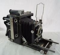 Vintage Graflex Speed Graphic Kalart Rangefinder 2x3 Kodak Ektar f:4.5 101mm