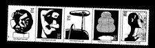 3857-61 Isamu Noguchi - STRIP OF 5 STAMPS (READY to MOUNT) 37¢ MNH FACE $1.85