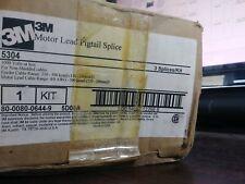3M 5304 MOTOR LEAD PIGTAIL SPLICE KIT BRAND NEW BOX OF 2 IN PACKAGE