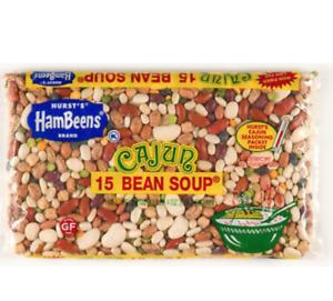 Hurst's HamBeens CAJUN 15 BEAN SOUP  20 oz. 15 BEAN mix incl Spice Pack