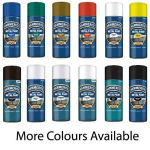 Hammerite Direct To Rust Aerosol Quick Drying Metal Spray Paint - 400ml