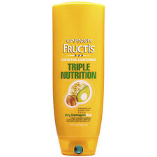 Garnier Fructis Triple Nutrition Conditioner for Dry, Damaged Hair, 12 oz (3 Pk)
