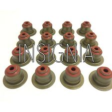 SET OF 16  Valve Stem Seals FIT TO VAUXHALL  INSIGNIA  2.0d  A20DTH