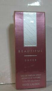 Beautiful Sheer Estée Lauder  Eau De Parfum Spray for Women -  2.5 oz SEALED