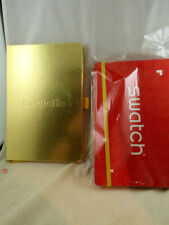 SWATCH Promotion Journals Notebooks New