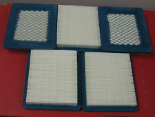 5 Pack  Briggs & Stratton Air Filter Replace 491588, 399959  FREE SHIPPING