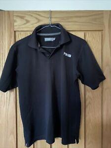 Boys Ping Golf Polo Shirt Size XL Junior Black
