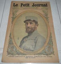 PETIT JOURNAL 1916 GENERAL BARATIER / LA MECQUE TURQUIE / PHOTOS GUERRE 14-18