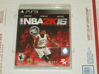 NBA 2K16 PS3 Anthony Davis Basketball New Sealed