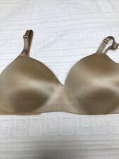 Soma Women's Vanishing Back Wireless Bra Beige Size 38C