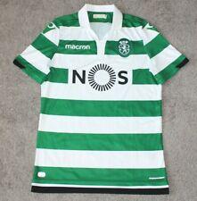 Macron Sporting Lissabon Poloshirt SCP Polo Clube de Portugal Fan Jersey S-XXL
