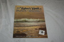 How Robert Woods Paints Landscapes & Seascapes Walter Foster Art Books #66