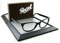 Persol 3020-S 95/31 57mm Rx Eye Glasses Gloss Black Frames Havana Sunglasses
