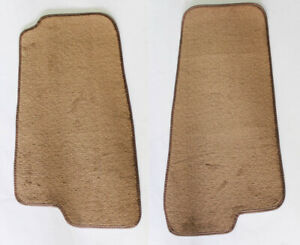NEW! 1999-2005 Mazda Miata Tan Custom Carpet Floor Mats 2pc Set Beige Pair