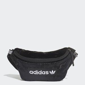 Adidas Waist Bag ED5877 Suede Black One Size Brand New