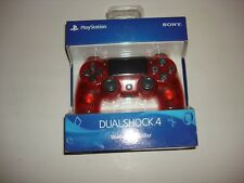 Sony Playstation DualShock 4 Red Crystal Wireless Controller PS4