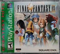 Final Fantasy IX 9 [Greatest Hits] (PlayStation 1 / PS1) Brand New